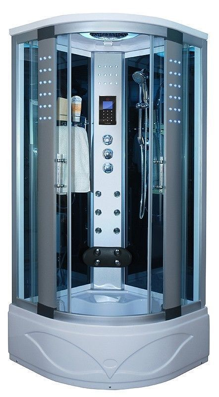 1 700 00 Shower Enclosure W Hydro Massage Jets Steam Spa Sauna