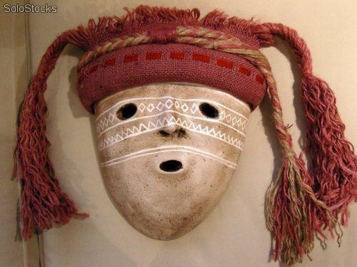 Mascaras Inca y precolombina.  