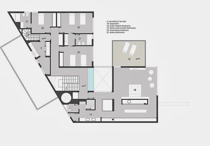 Minimalist Floor Plans floor plan of minimalist casa carraraandres remy architects