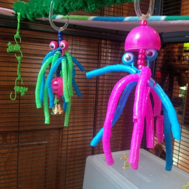 Glidergossip toy making sugar glider straw toy sugar