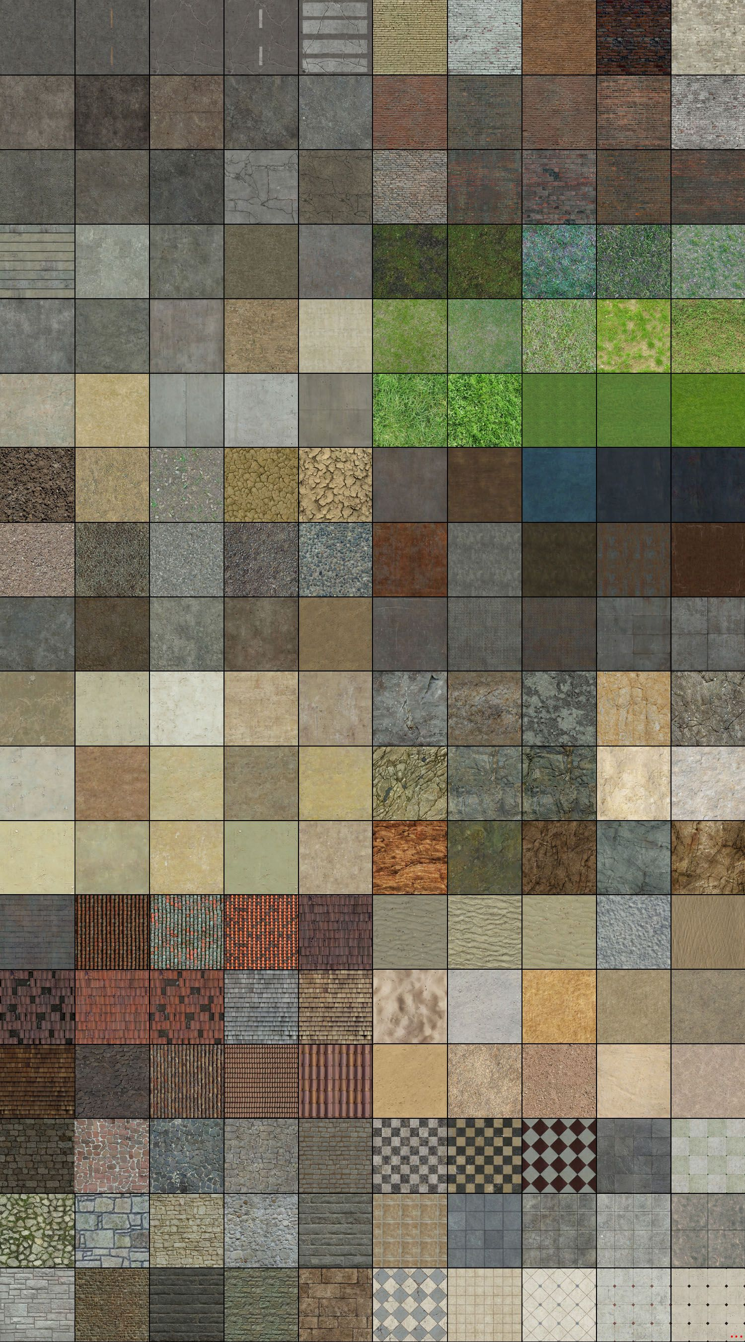 Complete Texture Pack By Akinuri On Deviantart Tileset