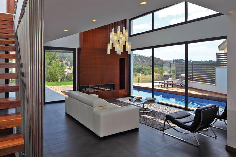 Living Room Light High Ceiling Lighting By Shimal E Peleg