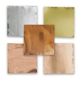 Art Metal Foil Sheets Pkg Of 12 38 Gauge Decorator Copper Sheet Metal Art Art Materials Metal Art Projects