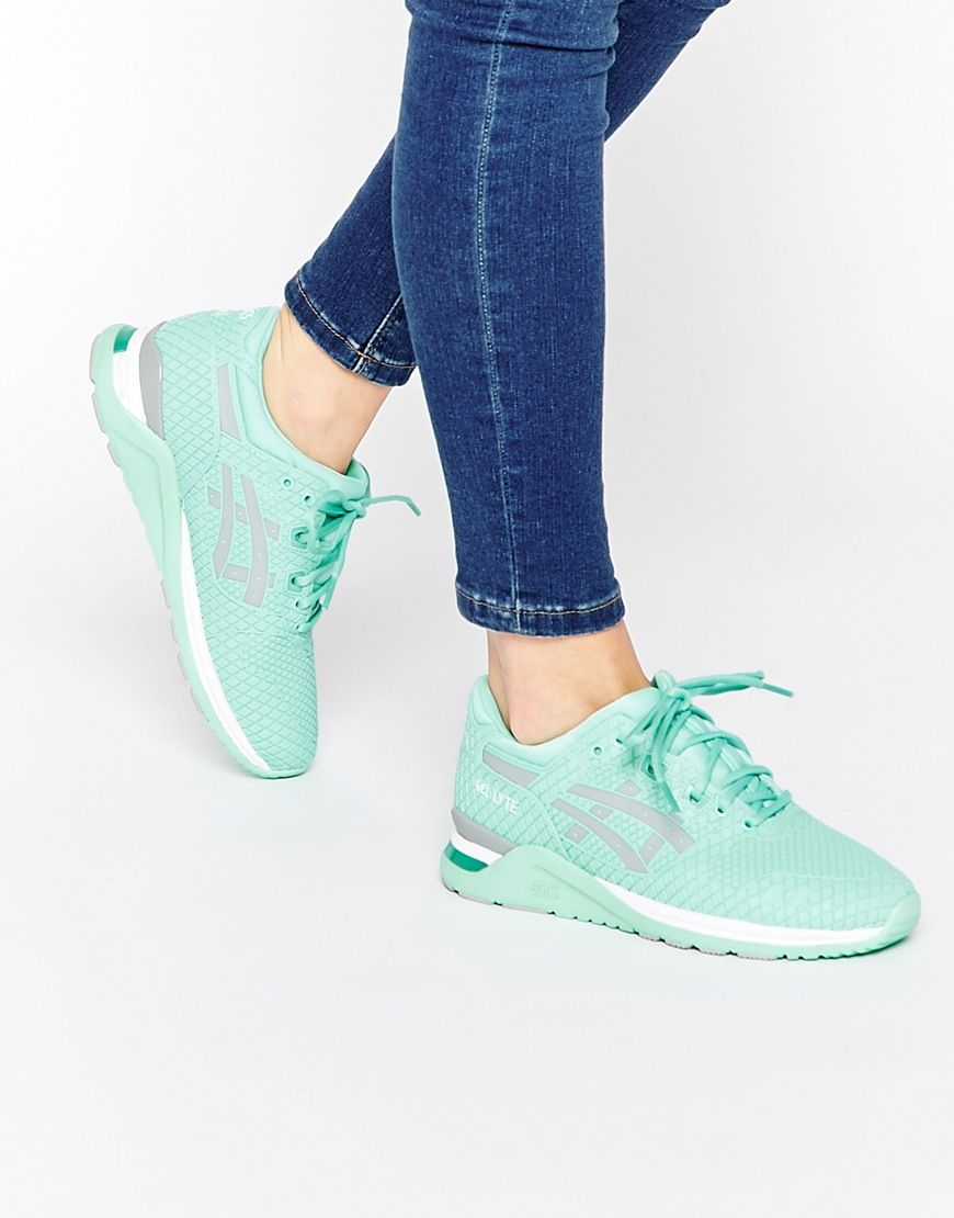grossiste e0942 b3dce Image 1 of Asics Gel Lyte Evo Mint Green Trainers | Wanted ...