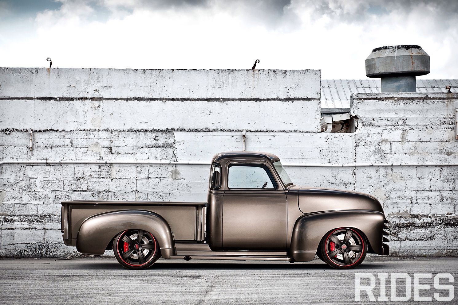 1950 Chevy 3100 With Corvette C4 Suspension Classic Trucks 54 Chevy Truck 1950 Chevy