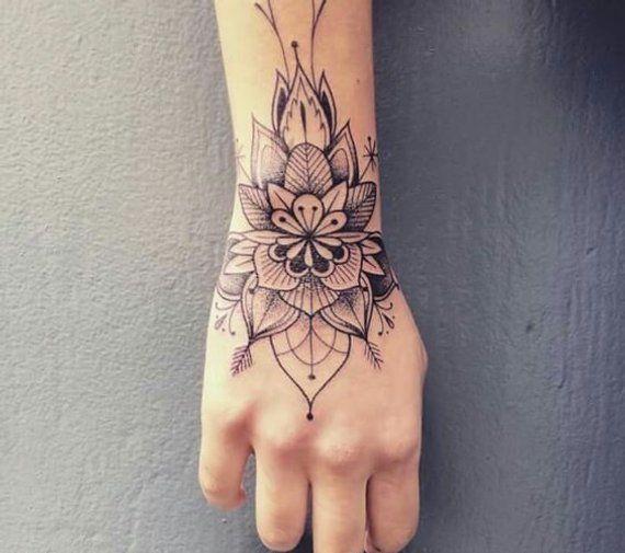 Fern Fake Tattoo Tatoos Hand Tattoos Wrist Tattoos