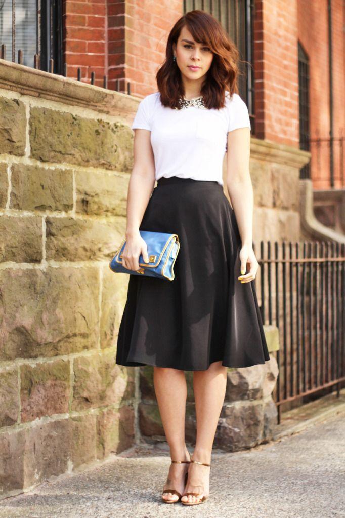 American Apparel skirt, Marc Jacobs sandals, Marc Jacobs clutch, Kendra Scott earrings