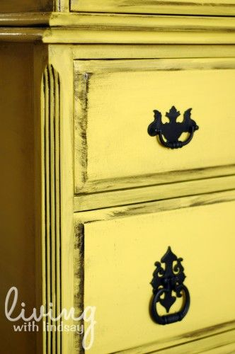 How to Glaze Wooden Furniture and Frames