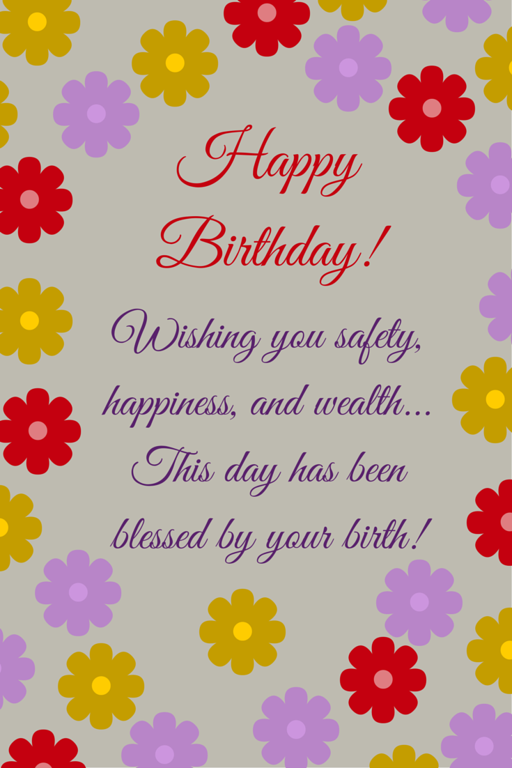 Wishes that Rime Happy Birthday Poems Birthday wishes