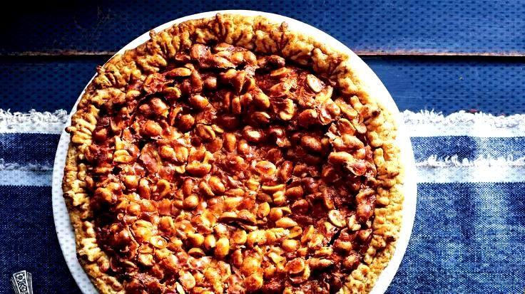 Food Photography - Maple Peanut Pie