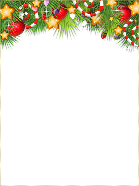Christmas Frame Clipart.Cute Transparent Christmas Photo Frame Christmas Photos