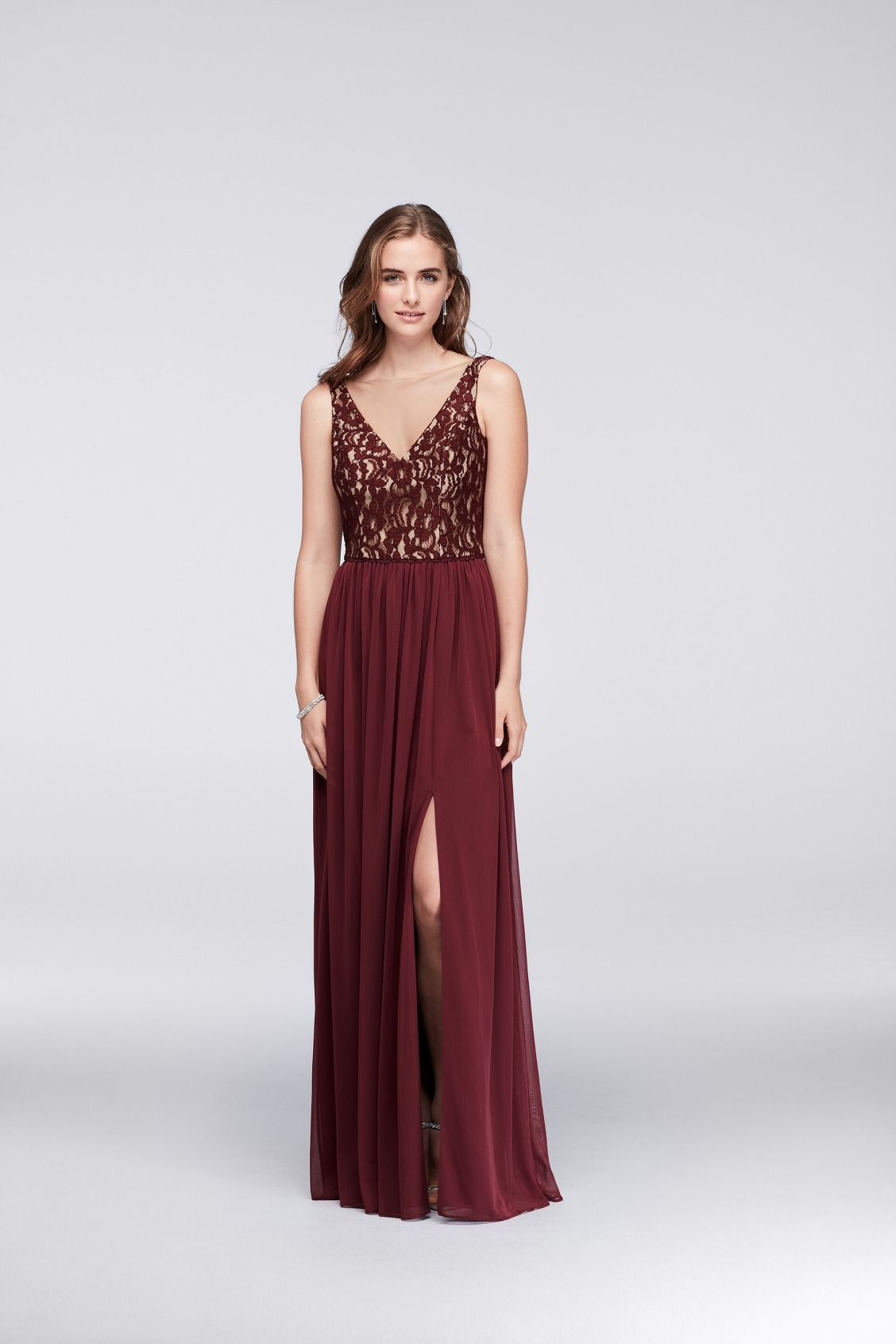 Lace And Wine A Winning Combination Shop This Tank V Neck Lace And