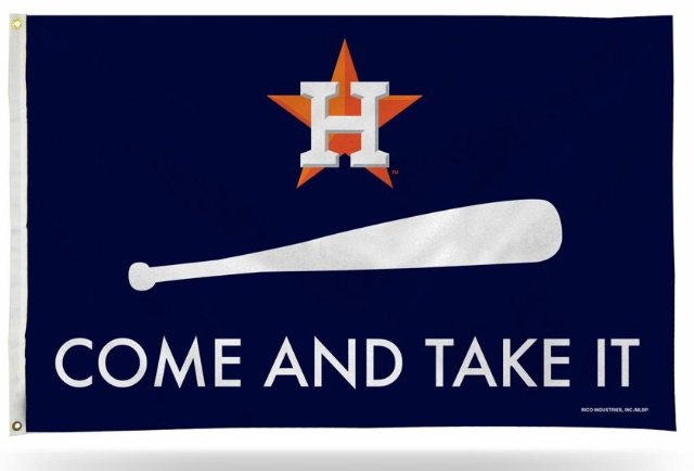 Houston Astros Come And Take It Banner Team Flag 3x5ft Come And Take It Flag Best Flags