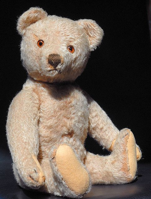 ef09ba0ceb61 Steiff teddy more 50 years old. I have this little guy but his
