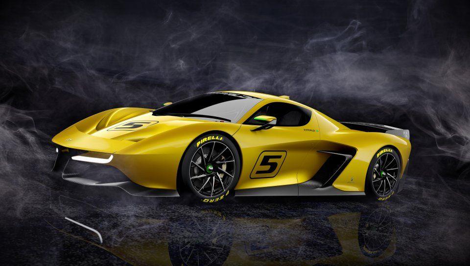 Fittipaldi Ef7 Vision Gran Turismo Limited Edition Yellow