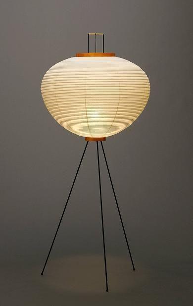 New Isamu Noguchi Akari 10a Floor Lamp Washi Paper Japanese Light Handcraft Jpn Home Garden Lamps Lighting C Room Lamp Japanese Lamps Lamps Living Room