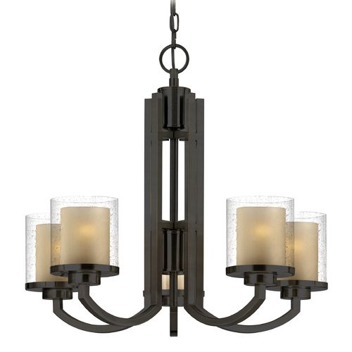 Seeded Glass Amber Chandelier Bronze Dolan Designs 2950 78 Destination Lighting Bronze Chandelier 5 Light Chandelier Modern Chandelier