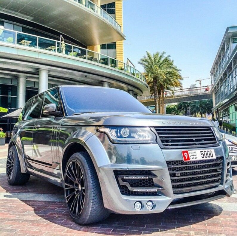 Chrome lumma Range Rover Motor car, Land rover, Dream cars