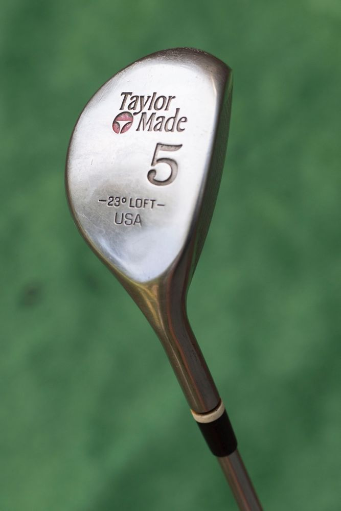 Taylormade 5 Wood 23 Degree Loft Vintage Fairway Metal Used Golf Club Golf Clubs Taylormade Golf