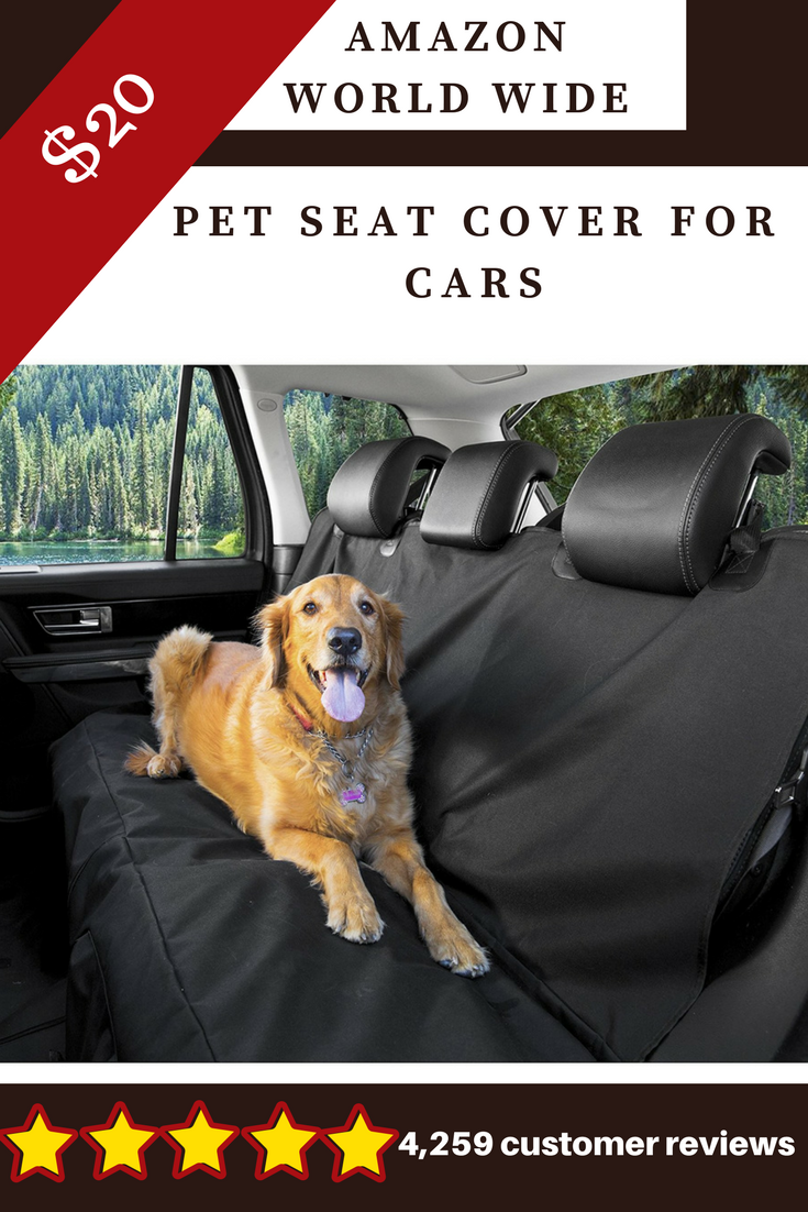 Original Pet Seat Cover For Cars Black Waterproof Hammock Convertible Cover Cars Waterproof Hammock Pets Dog Car Accessories Pet Seat Covers Dog Car
