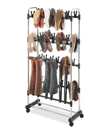 Look at this #zulilyfind! Clip-On Shoe & Boot Rack #zulilyfinds