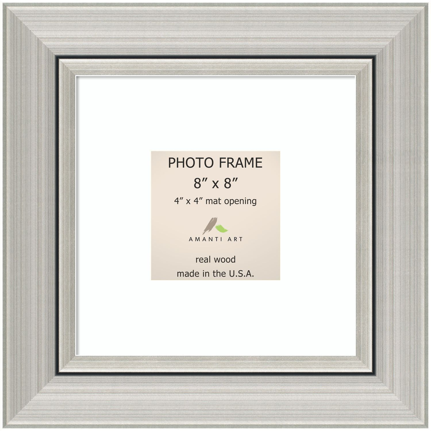 Romano Silver Photo Frame 12 x 12-inch (Silver Photo Frame Matted ...