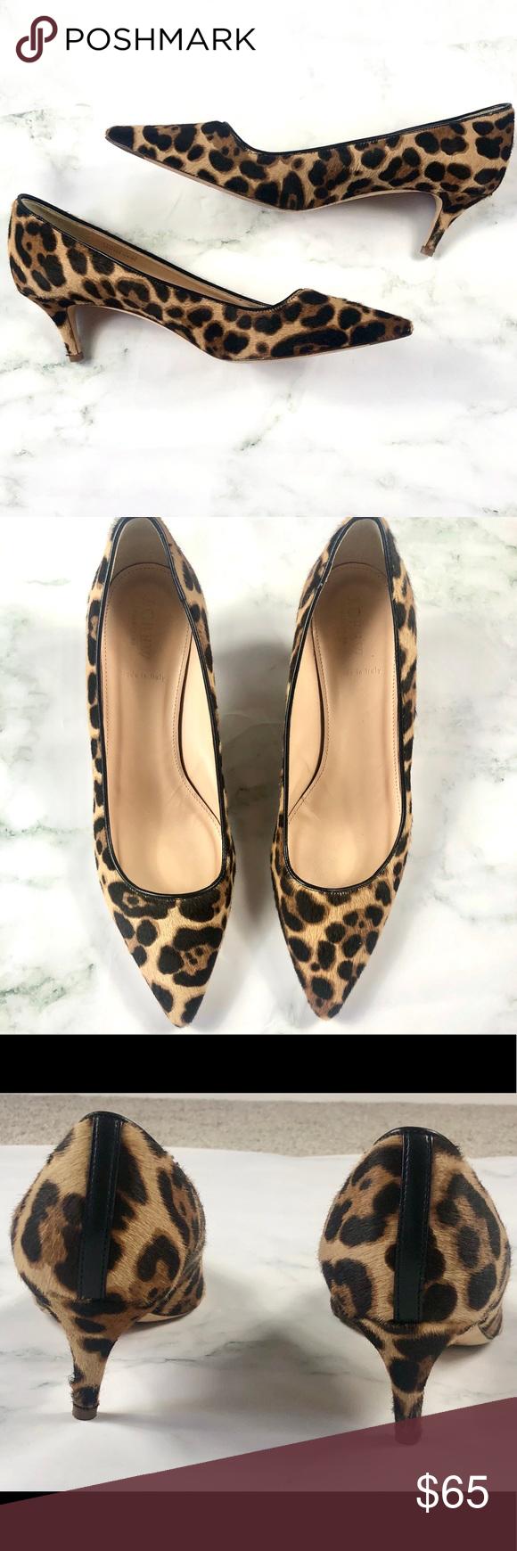 J Crew Collection Calf Hair Kitten Heels In 2020 Kitten Heels Heels Shoes Women Heels