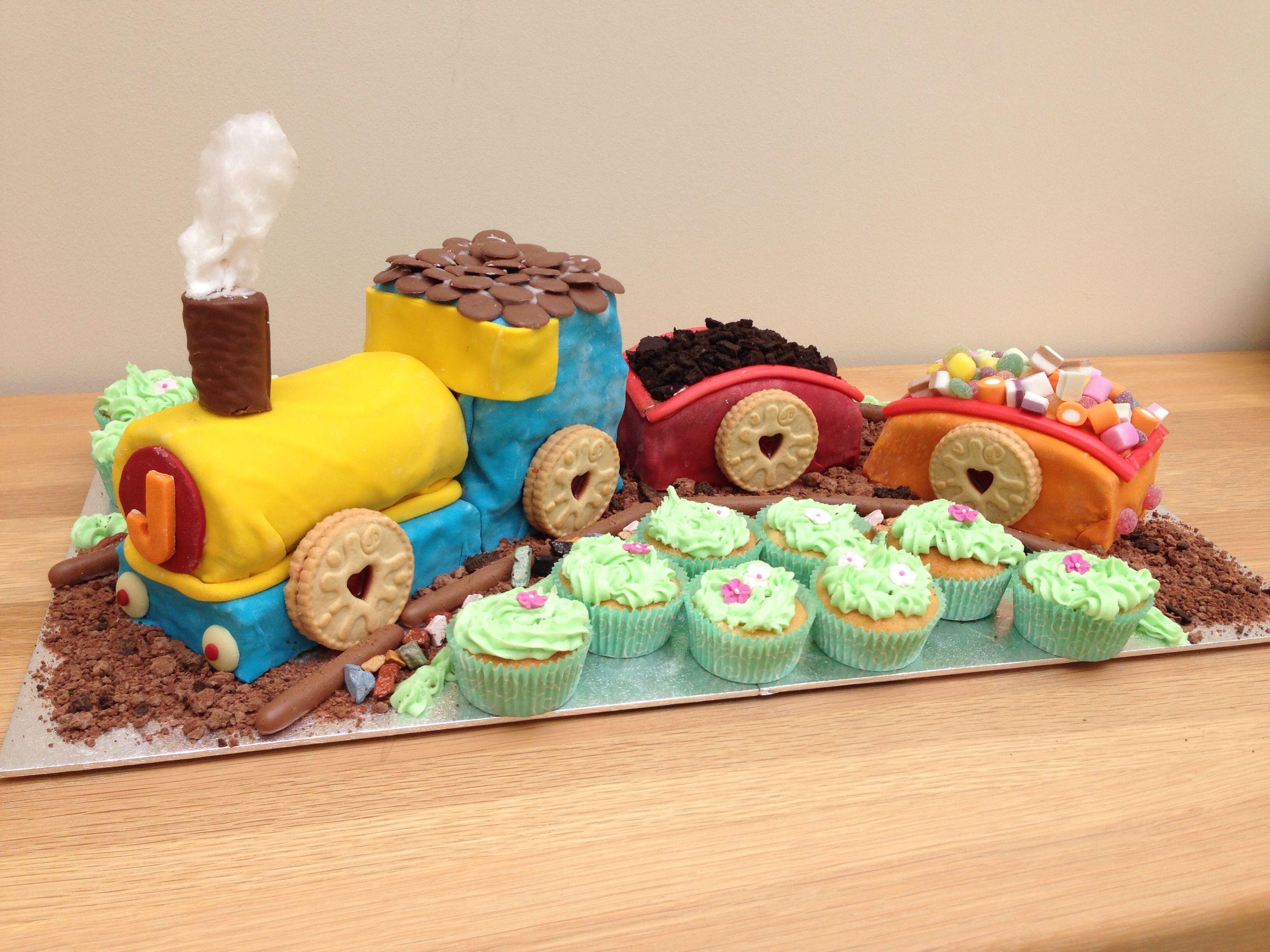 Train Cake No Tutorial Chocolate Cake And Swiss Roll