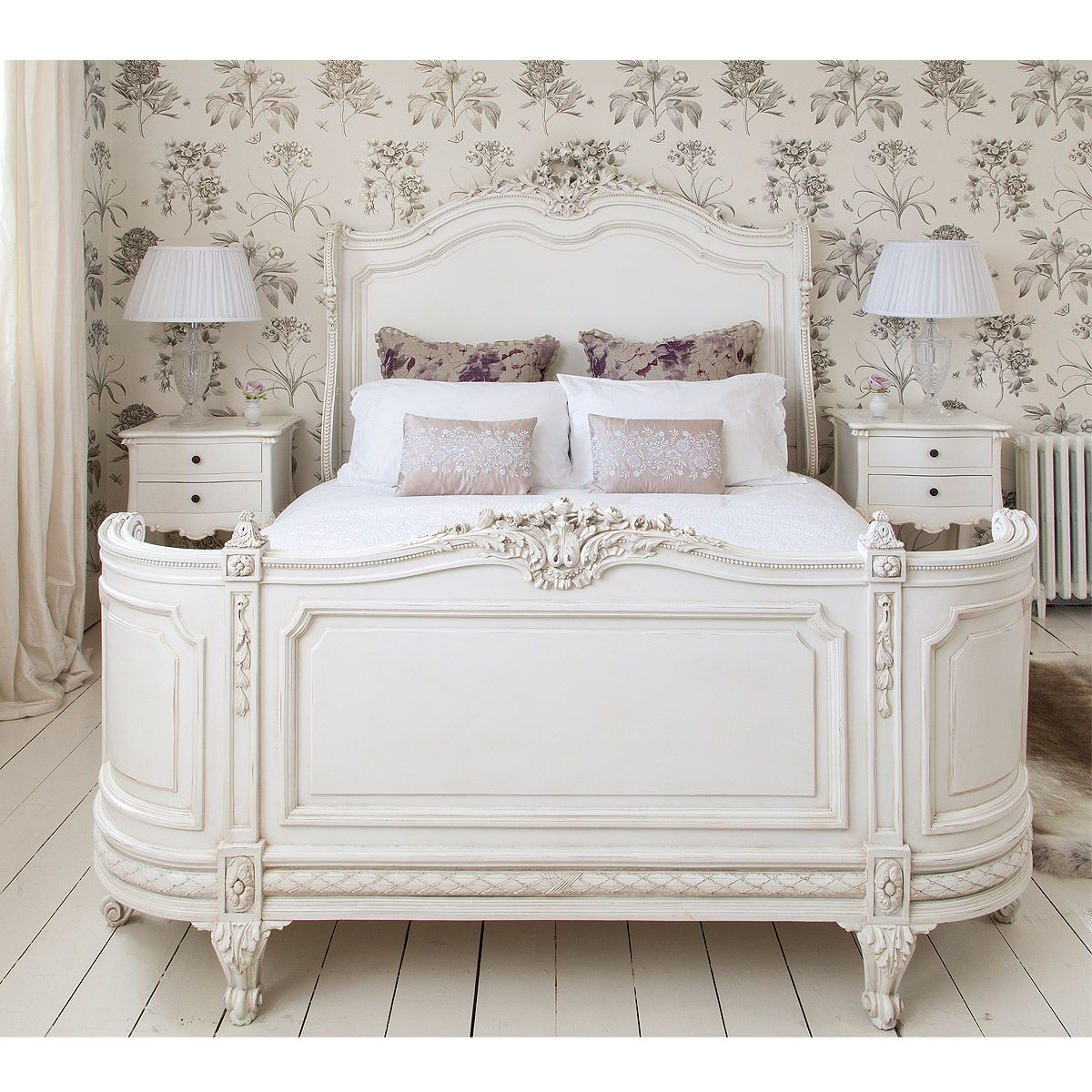 Best Provencal Bonaparte French Bed French Bed Luxury 400 x 300