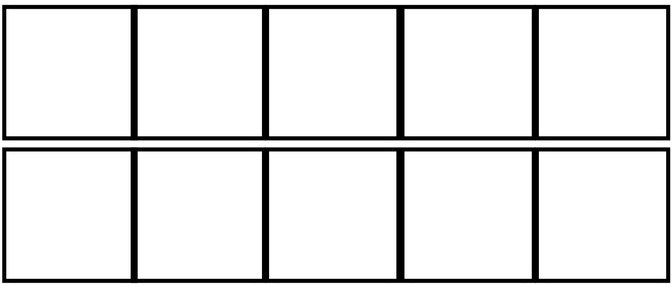 Math FREEBIE Print this double 10 Frame template to help your