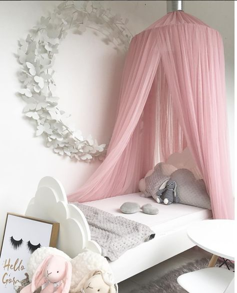 32 Dreamy Bedroom Designs For Your Little Princess: Dreamy Canopy - Blush In 2020