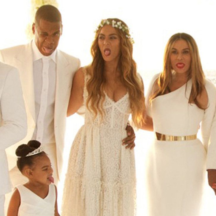 Even Blue Ivy Had A Ball At Her Grandma Tina S Wedding Blue Ivy Blue Ivy Carter Beyonce Queen