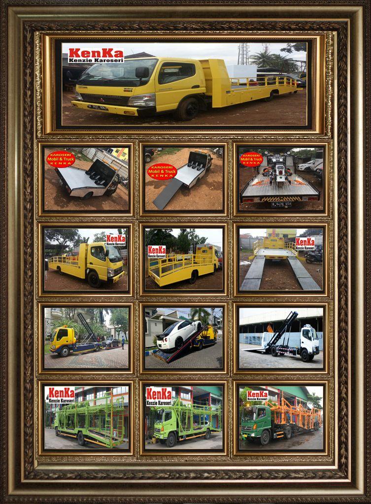 Mobil Truck Towing Karoseri Mobil Truck Kenka Mobil Daihatsu Mobil Derek