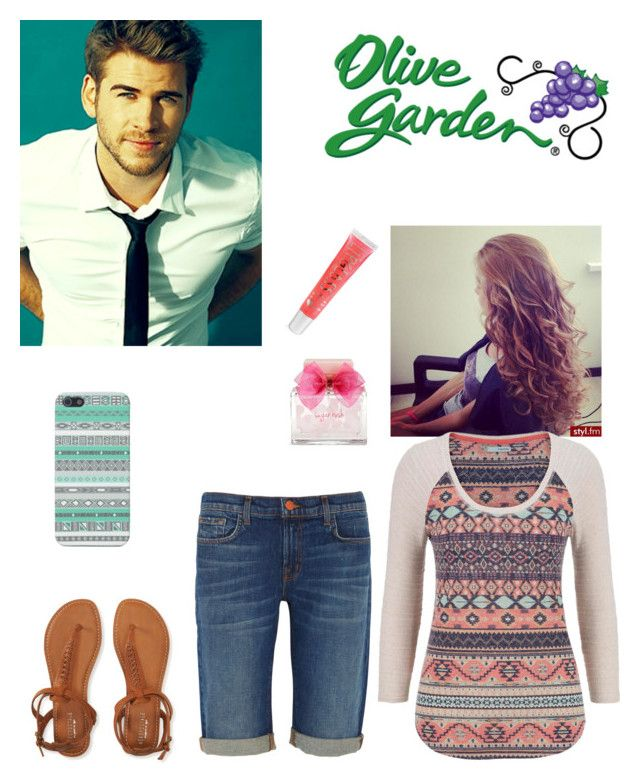 """""""Out to eat with Liam❤️"""" by jesuslovingirl ❤ liked on Polyvore featuring Aéropostale, maurices and J Brand"""