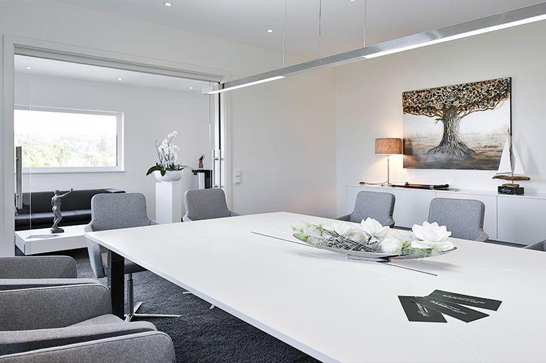 Besprechungszimmer beladomo GmbH Edelwasser Manufkatur Bauunternehmen bendl