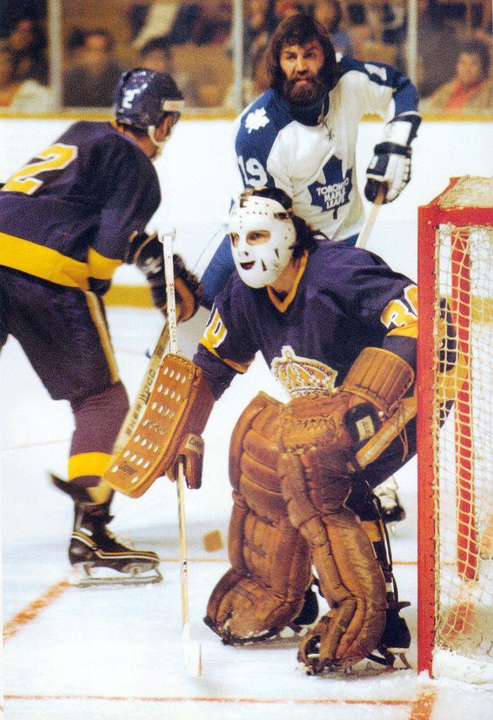 newest 3da28 78700 Rogie Vachon 001 | NHL | Maple leafs hockey, Hockey ...