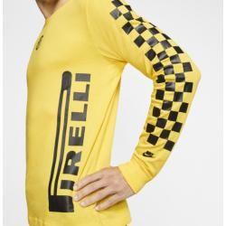 Inter Mailand Langarm-T-Shirt für Herren - Gelb NikeNike #fashiontag