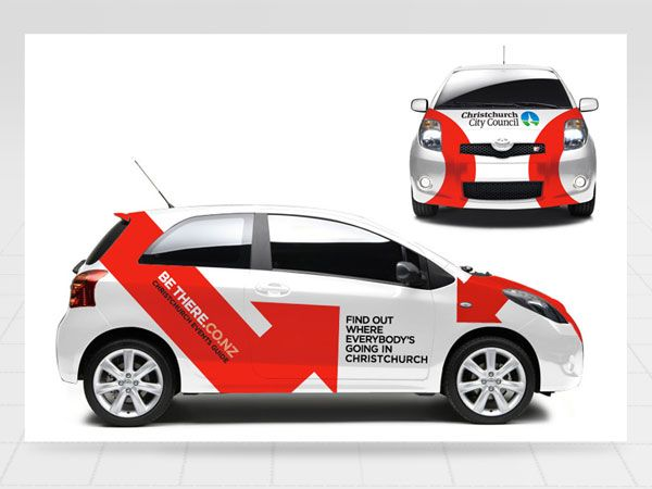 Christchurch City Council Vehiclewrap Competition Vehicle