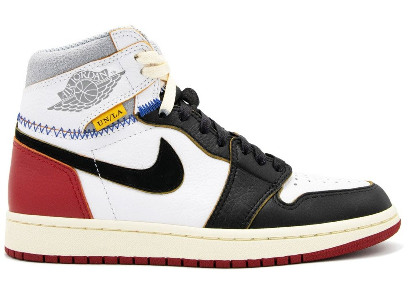 f79634d461c8 Check out the Jordan 1 Retro High Union Los Angeles Black Toe available on  StockX