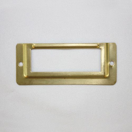 20 pcs brass gold metal 58x24 mm locker drawer door name for Door name plates