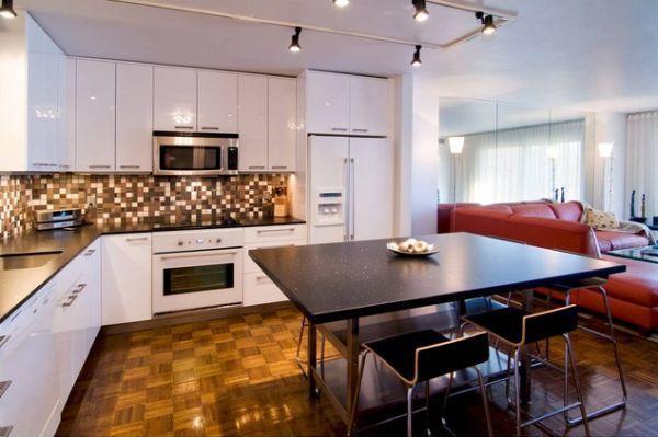Stylish Kitchens With White Appliances They Do Exist White Gorgeous Modern Kitchen With White Appliances