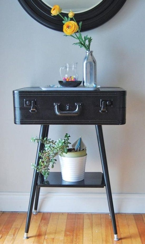 30 Fabulous Diy Decorating Ideas With Repurposed Old Suitcases: 13 Clever Ideas To Decorate Your Home With Vintage Suitcases