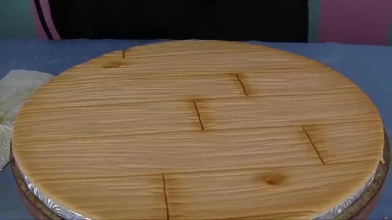 Andrea S Sweet Tips 5 Hardwood Floor Cake Board Treatment Using