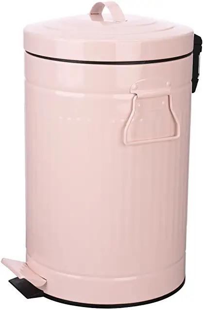 Amazon Com Pink Kitchen Trash Cans Trash Recycling Compost Home Kitchen Kitchen Trash Cans Bathroom Trash Can Trash Can