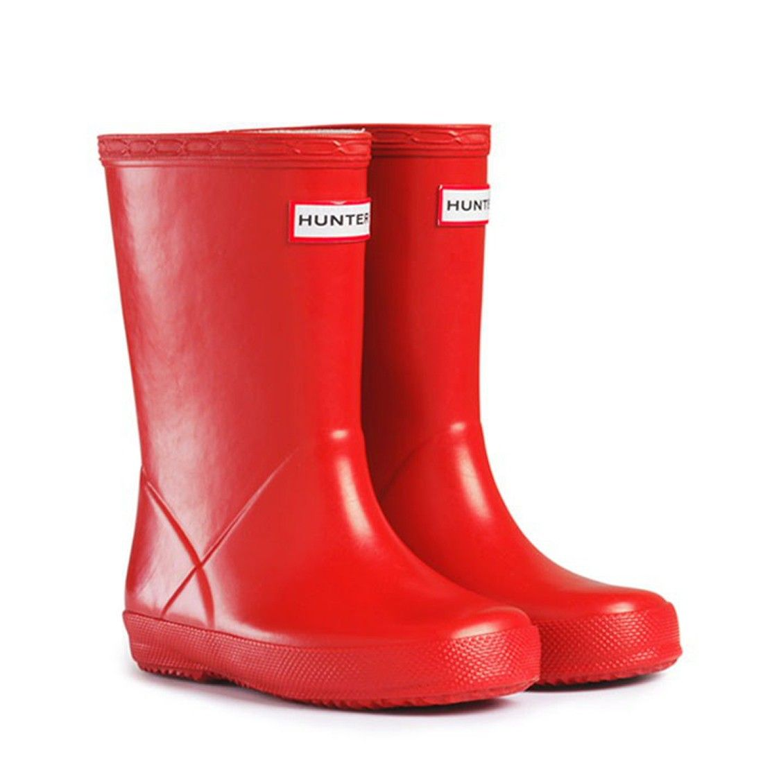 Hunter Kids First Wellies Red | Naylors.com