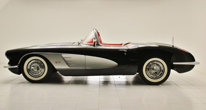 Currently At The Catawiki Auctions Chevrolet Corvette C1 1958 Chevrolet Corvette C1 Chevrolet Corvette Corvette