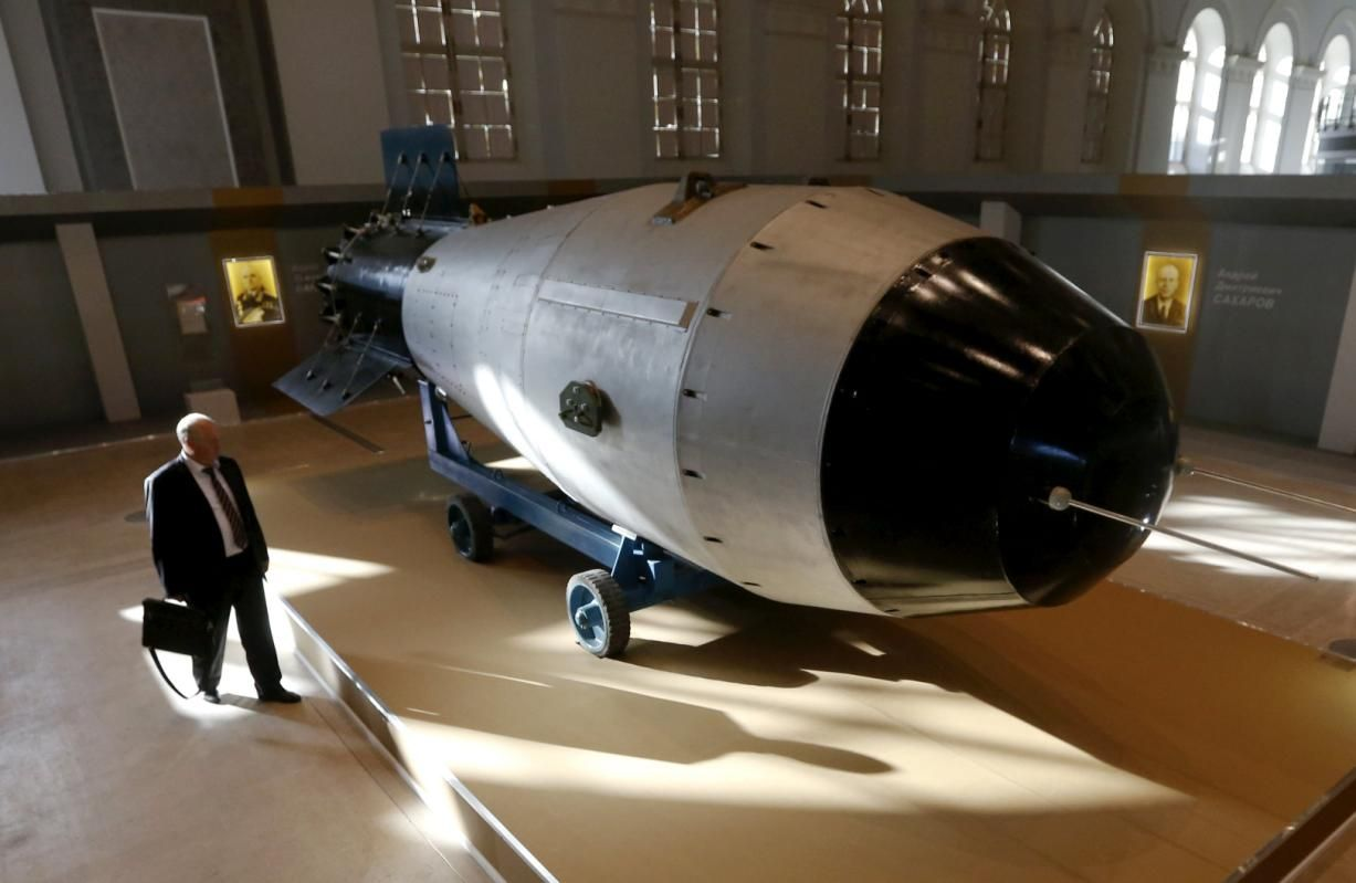 Replica of most powerful nuclear bomb ever on display in Moscow