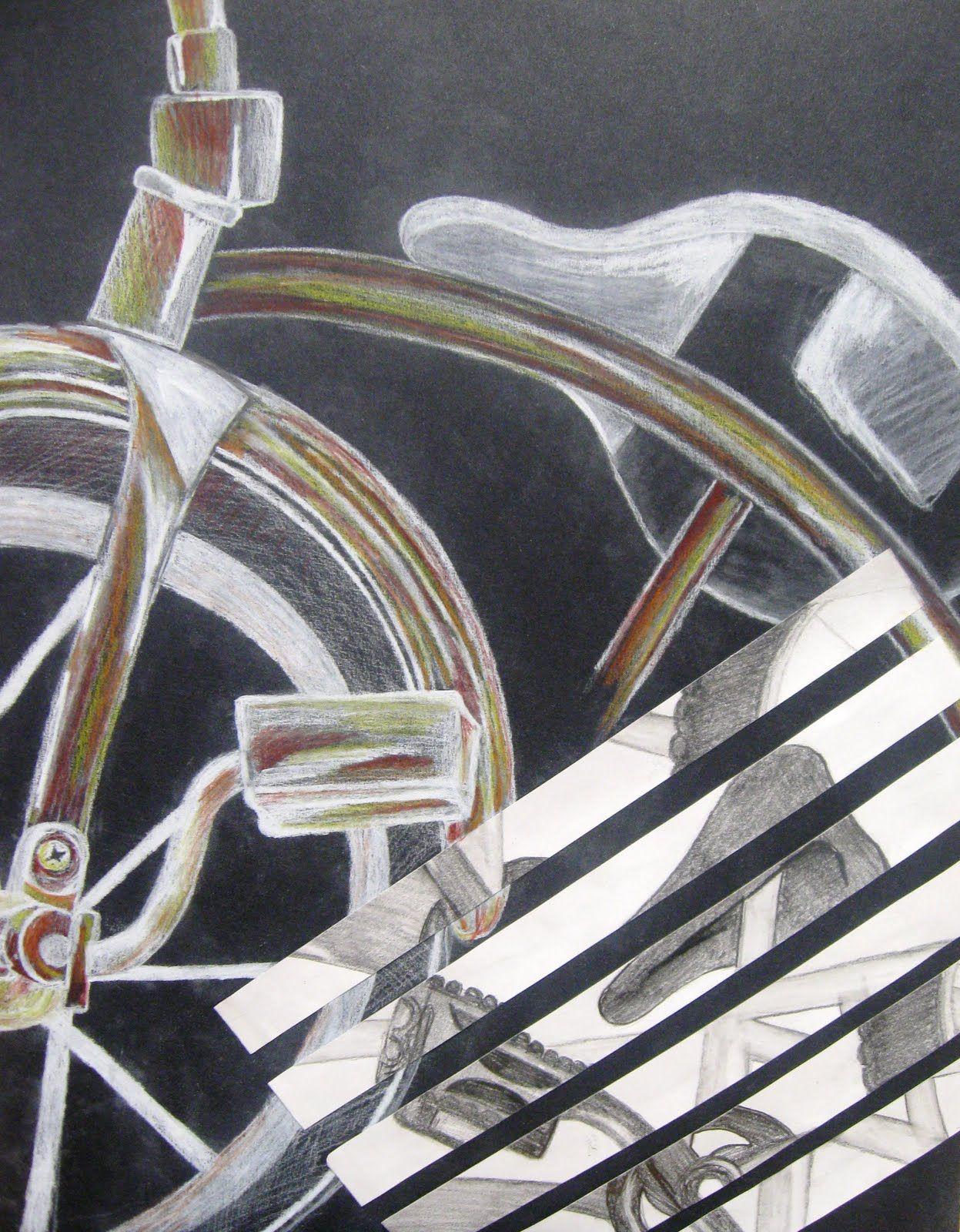 Bike Drawings Bike drawing, Art assignments, Drawings