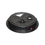 The Original Radon Sump Dome Model Smr16101 Cv Amazon Com Sump Sump Pump Cover Sump Pump