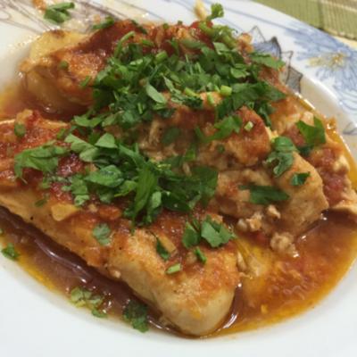 صينية سمك فيليه بالفرن Cooking Fish Recipes Food